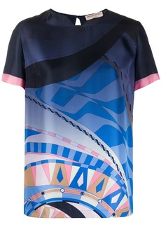 Emilio Pucci abstract-print top