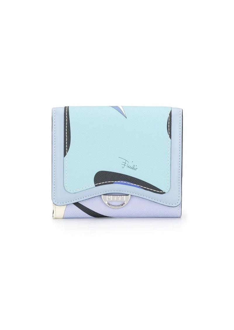 Emilio Pucci Alex Mini Print Wallet