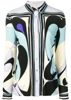 Emilio Pucci Alex Print Button-Down Shirt