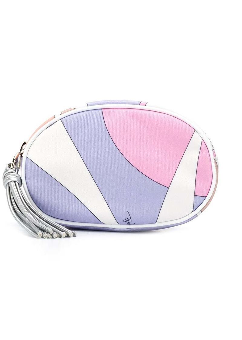 Emilio Pucci Alex Print Cosmetic Case