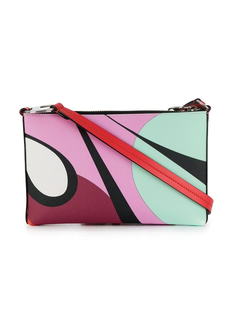 Emilio Pucci Alex Print Envelope Mini Bag