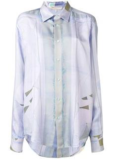 Emilio Pucci Alex Print Faded Silk Shirt