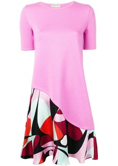 Emilio Pucci Alex Print Insert Dress