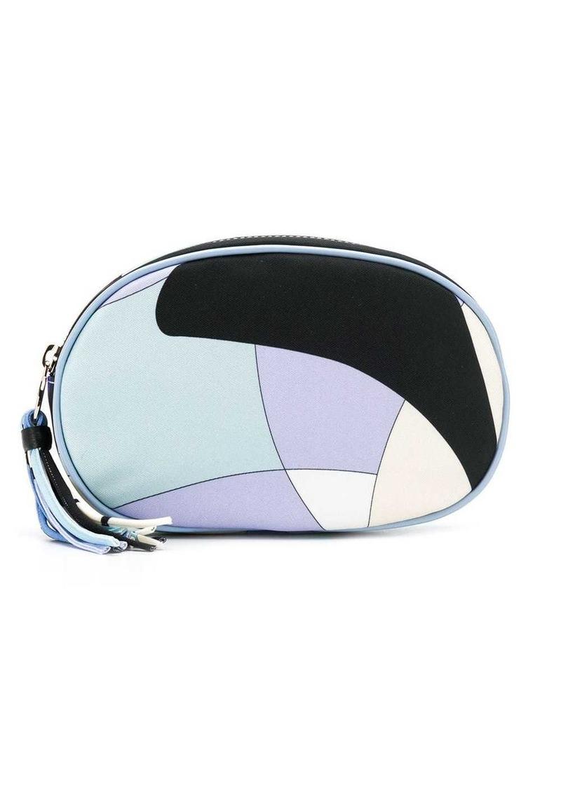 Emilio Pucci Alex Print Large Cosmetic Case