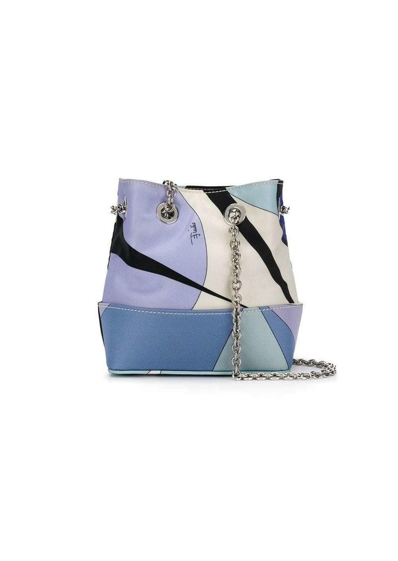 Emilio Pucci Alex Print Mini Bonita bag