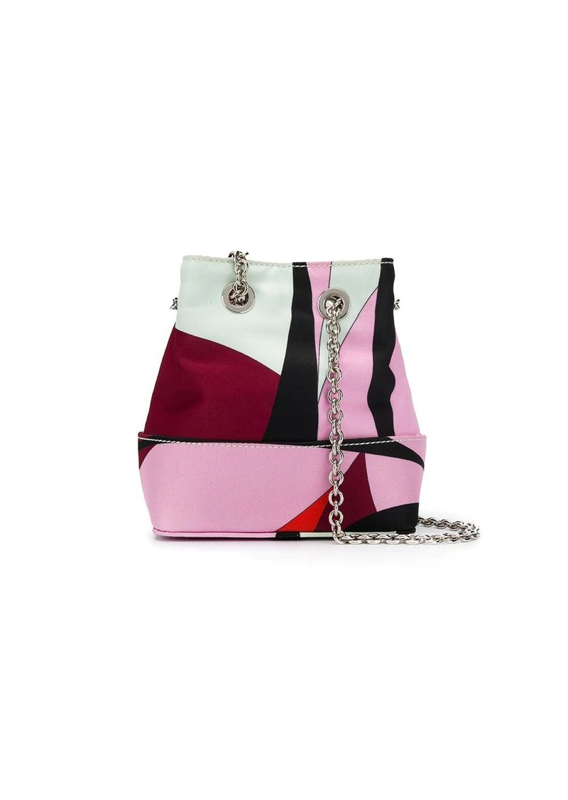 Emilio Pucci Alex Print Mini Bonita bag