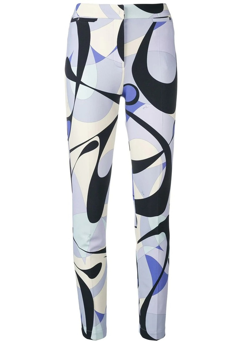 Emilio Pucci Alex Print Pocket Detail Leggings
