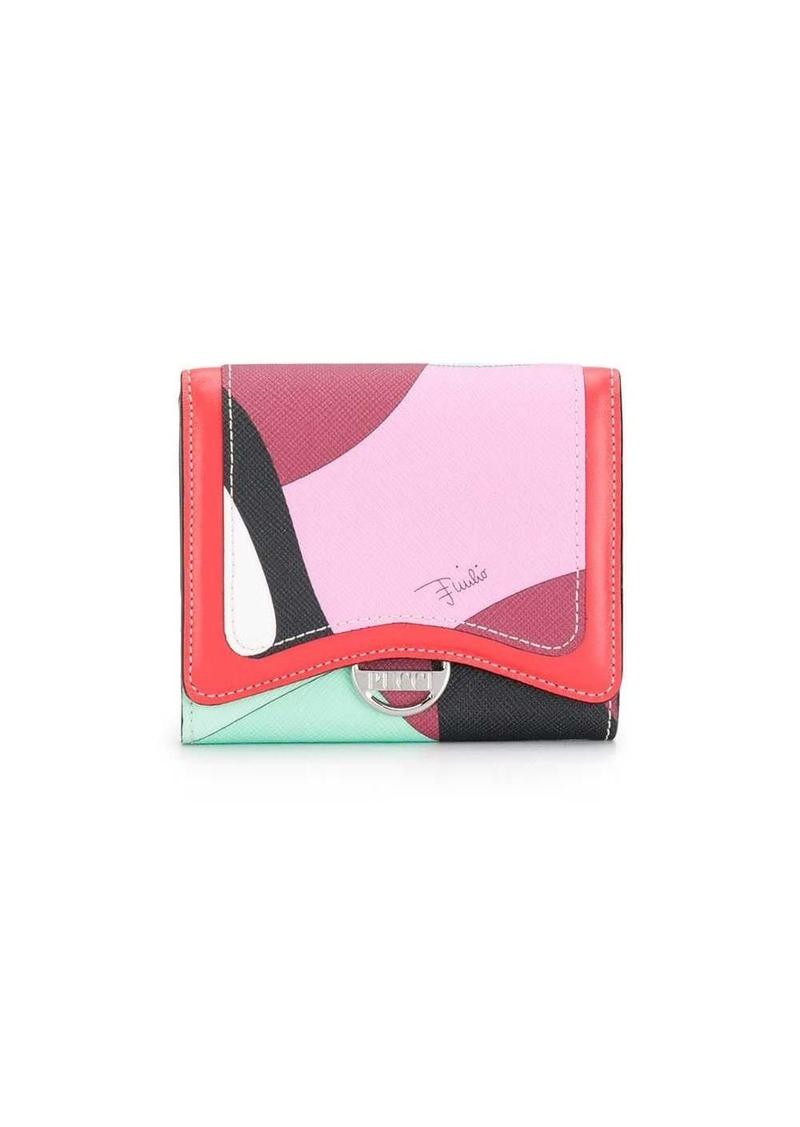 Emilio Pucci Alex print wallet