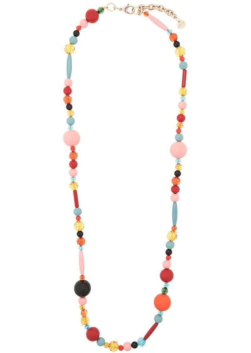 Multicoloured Beaded Necklace