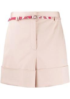 Emilio Pucci belt detail shorts
