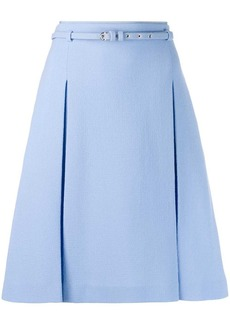 Emilio Pucci belted A-line skirt