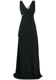 Emilio Pucci Belted Long Gown
