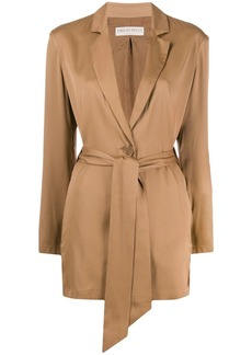 Emilio Pucci belted long-length jacket