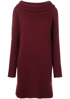 Emilio Pucci Bordeaux Cashmere Knit Dress