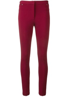 Emilio Pucci Bordeaux Pocket Detail Leggings