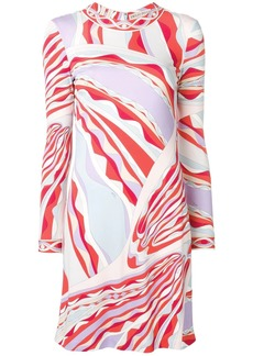 Emilio Pucci Burle Print Mini Dress