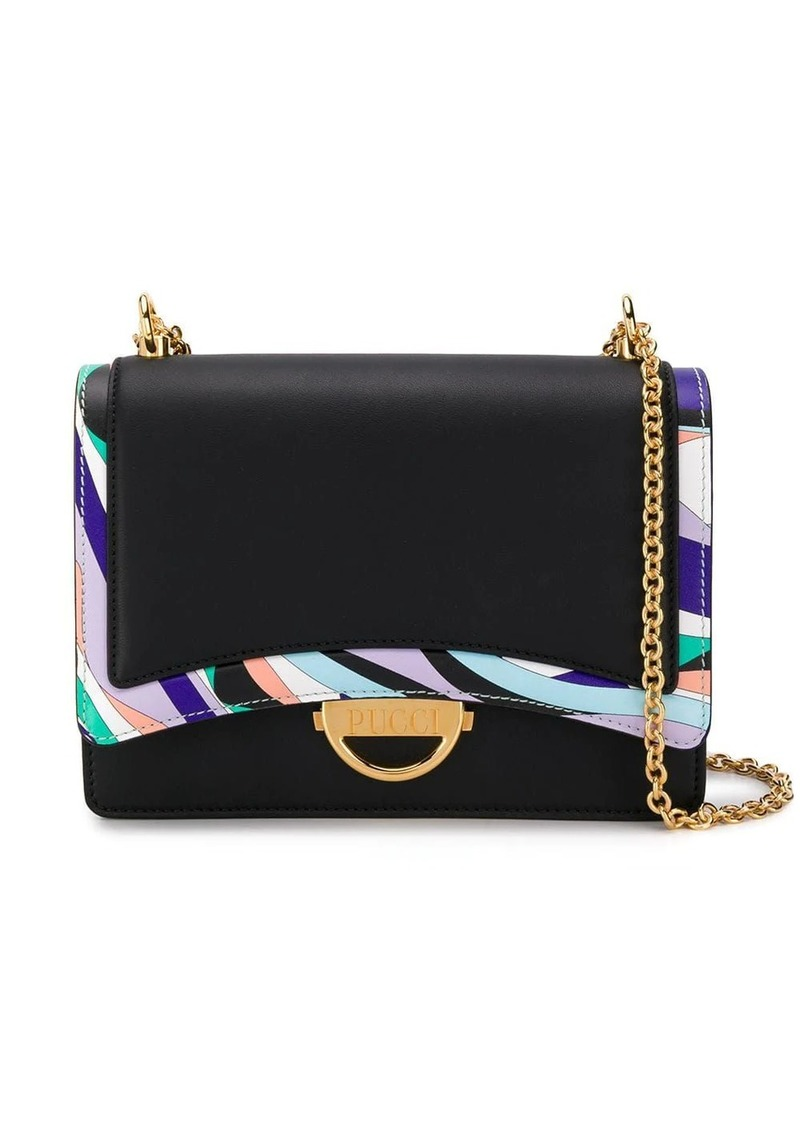 Emilio Pucci Burle Print Shoulder Bag