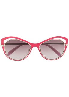 Emilio Pucci butterfly frame gradient sunglasses