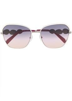 Emilio Pucci butterfly full rim sunglasses