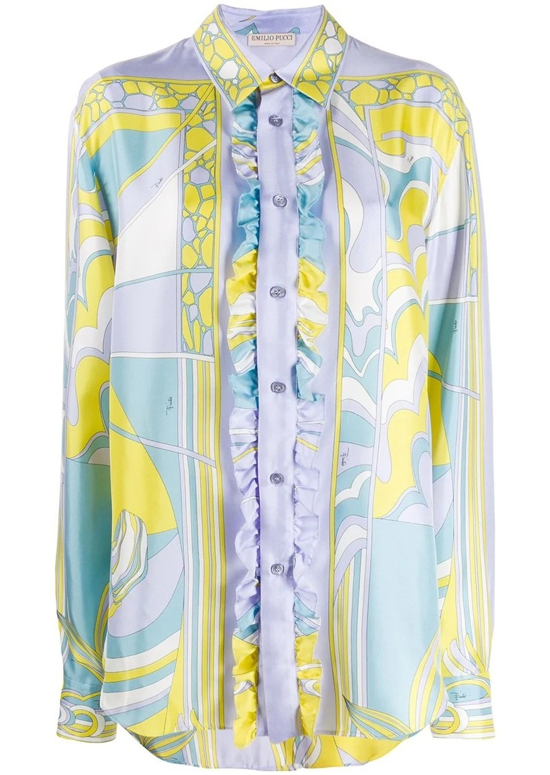 Emilio Pucci button-down printed shirt
