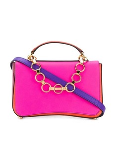 Emilio Pucci Chance Chain Embellished Colourblock Bag