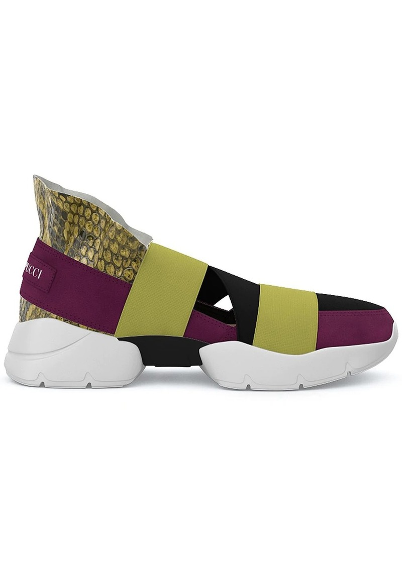 Emilio Pucci City Up custom sneakers