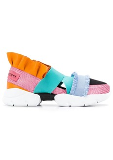 Emilio Pucci City Up Ruffle Trainers