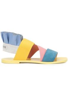 Emilio Pucci colour block City sandals