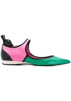 Emilio Pucci colourblock Ballerinas sneakers