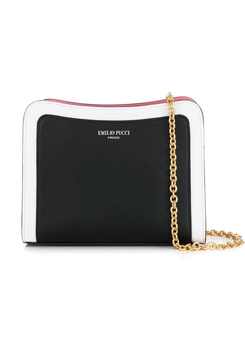 Emilio Pucci Colourblock Shoulder Bag
