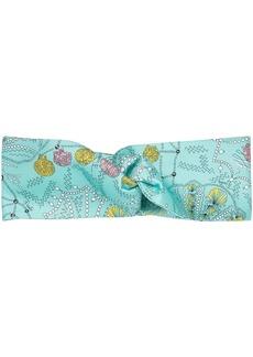 Emilio Pucci Conchiglie baby pattern hairband
