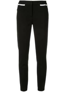 Emilio Pucci contrast detail slim trousers