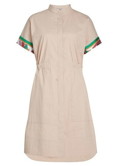 Emilio Pucci Cotton Dress with Printed Detail