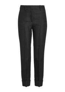 Emilio Pucci Croppe Silk Pants