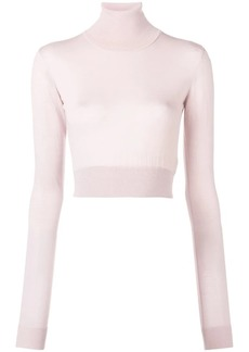 Emilio Pucci cropped roll neck sweater
