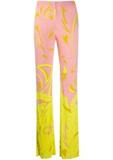 Emilio Pucci Dinamica Degradè print trousers