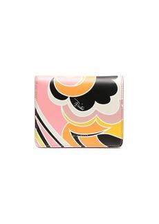 Emilio Pucci Dinamica-print bi-fold wallet