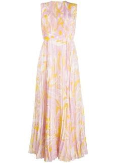 Emilio Pucci Dinamica print long dress