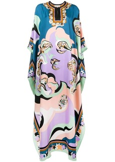 Emilio Pucci Edie long flared dress