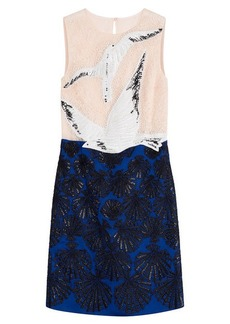 Emilio Pucci Embellished Dress with Lace