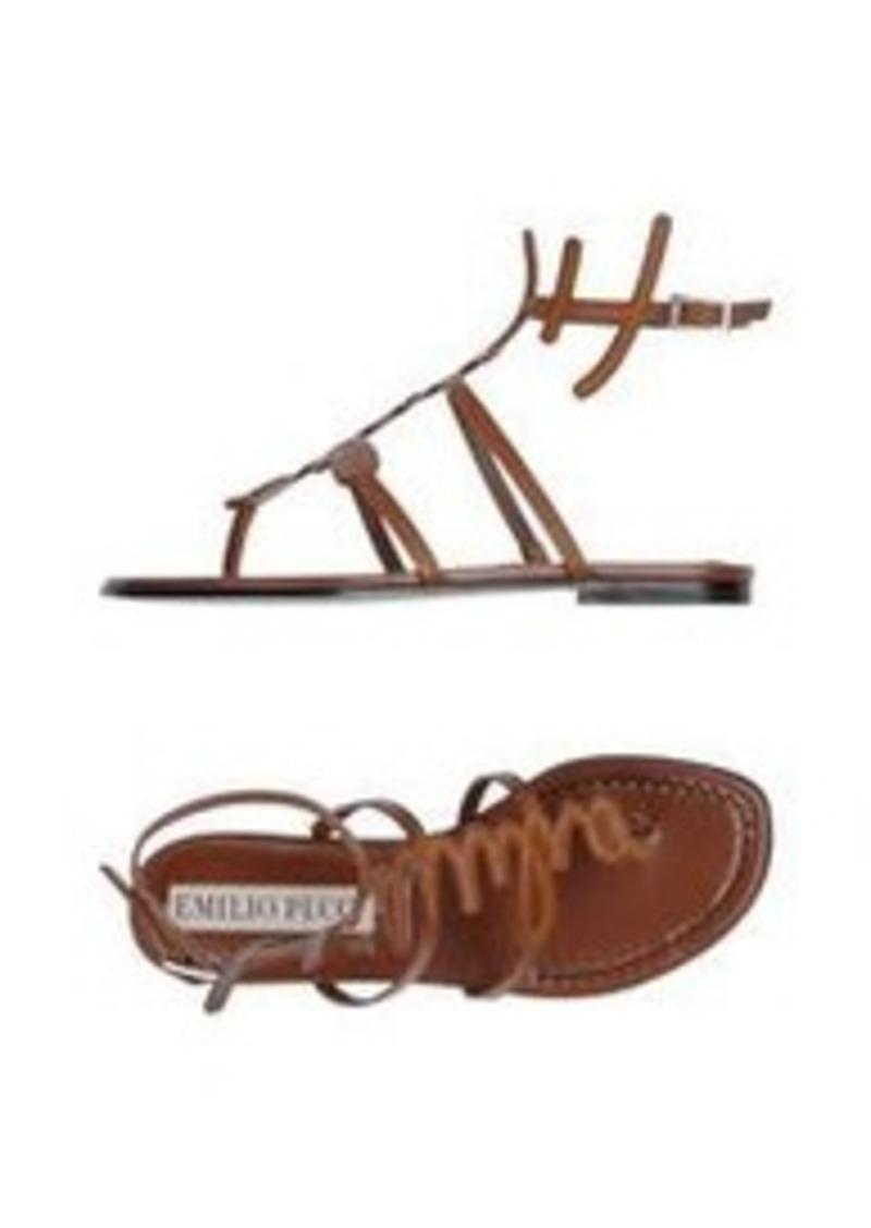 EMILIO PUCCI - Flip flops