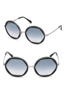 Emilio Pucci 57MM Round Sunglasses