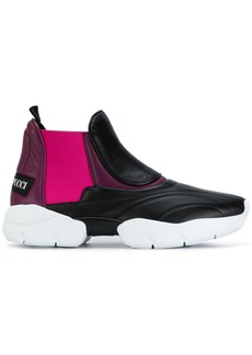 Emilio Pucci ankle boot sneakers - Black