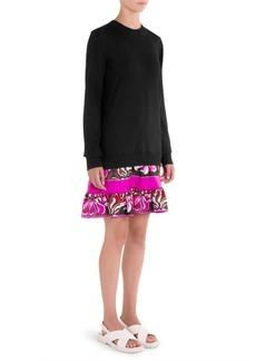 Aruba Ruffle Hem Dress