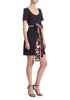 Aruba Scarf Tie Dress