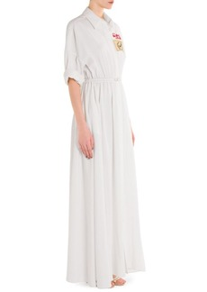Emilio Pucci Belted Silk Shirt Dress