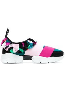 Emilio Pucci City One slip-on sneakers - Multicolour