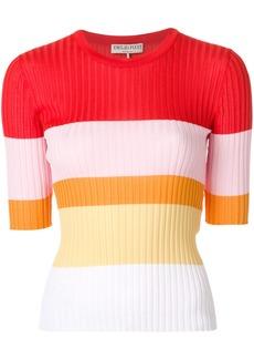 Emilio Pucci colour-block ribbed-knit top - Multicolour