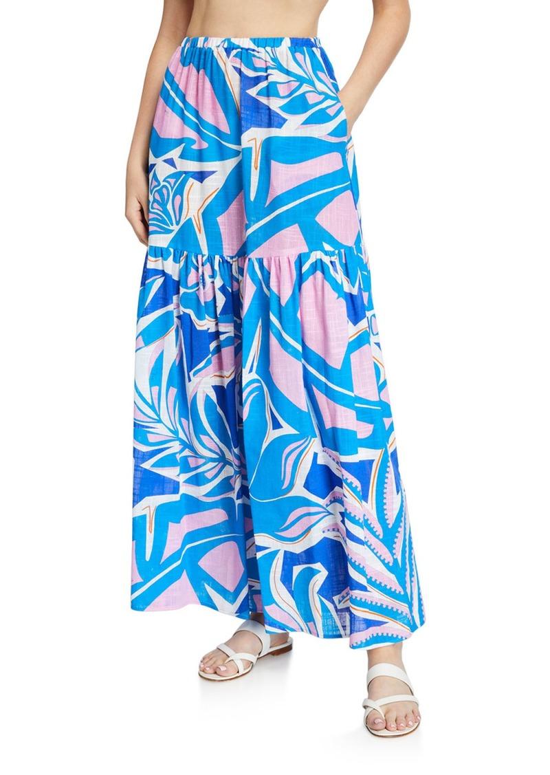 Emilio Pucci Coverup  Maxi Skirt