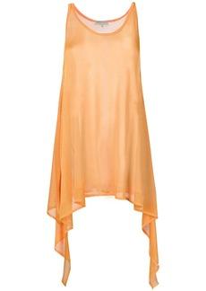 Emilio Pucci draped knitted top - Yellow & Orange